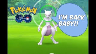 Pokemon GO | Mewtwo EX Raid Invites Are Back, And I GOT ONE!!