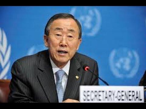 Pakistan - India need to address Kashmir dispute : Ban Ki Moon