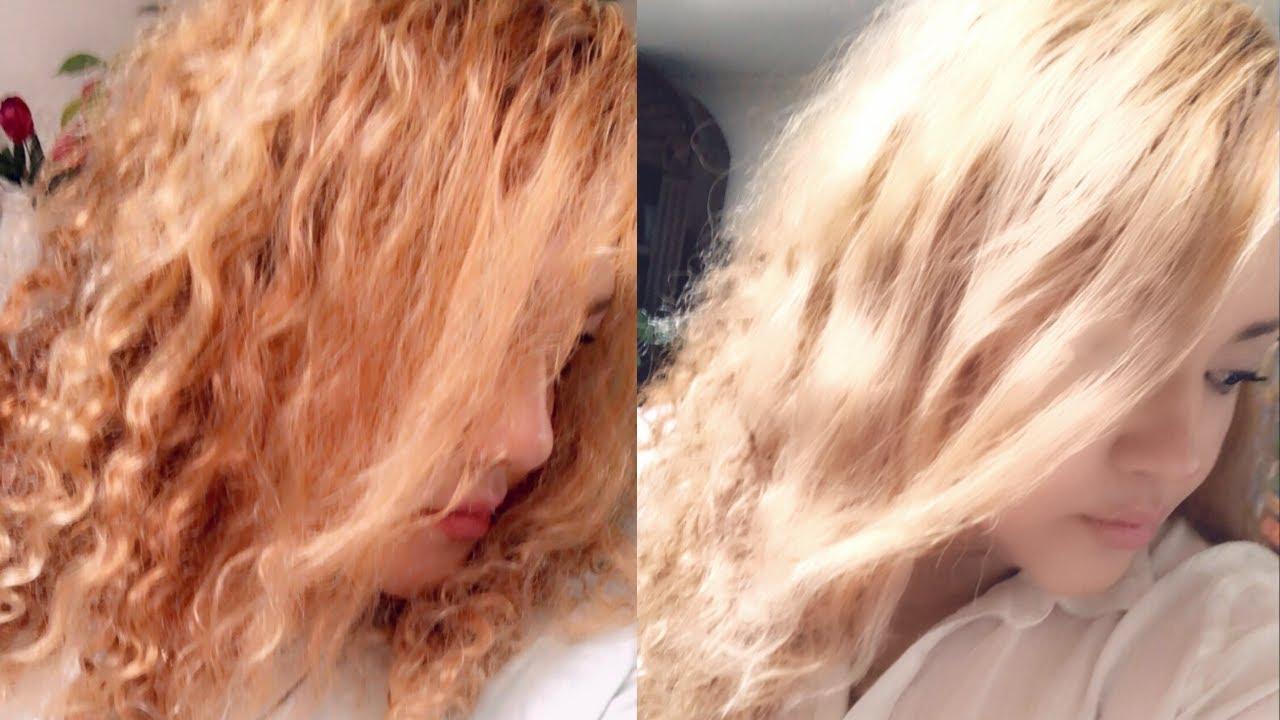 HOW TO TONE YOUR BRASSY ORANGE HAIR AT HOME / FANOLA NO ORANGE SHAMPOO - Kara