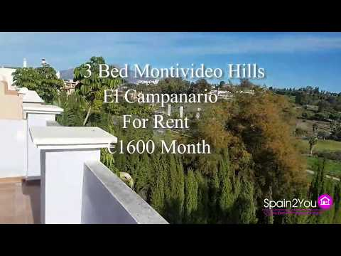 El Campanario Montevideo Hills Long Term Rental €1600 Month