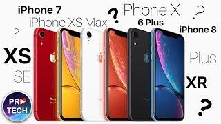 Какой IPhone выбрать в 2018   2019 году IPhone XR XS XS Max 8 7