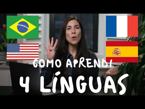 HOW I LEARNED 4 LANGUAGES  Speaking Brazilian