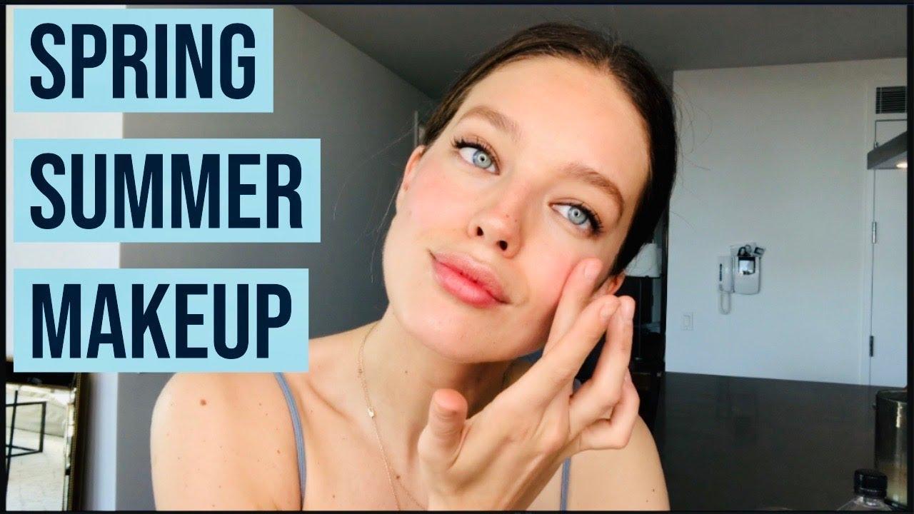 Easy Everyday Natural Spring + Summer Makeup | Emily DiDonato