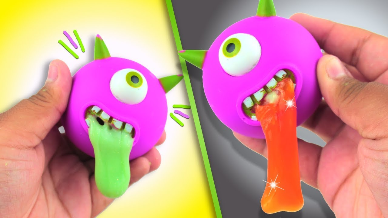 Squishy Maker Gudang Slime : DIY HALLOWEEN SQUISHY VOMIT TOY // HOW TO MAKE A SLIME MONSTER SQUISHY TOY + HOW TO MAKE SLIME ...