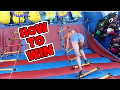 HOW TO WIN THE LADDER CARNIVAL GAME EVERY TIME!