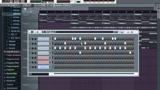 Fl studio 10 урок №3 Делаем минус (0.0.2)