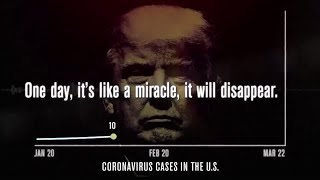Trump threatens lawsuit over an an ad that features him calling coronavirus a 'hoax'