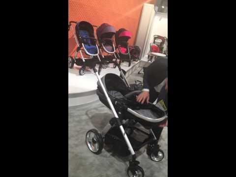 babytrend modular bassinet stroller car seat - YouTube