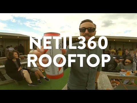 PROPER EAST LONDON ROOFTOP BAR | Netil360 | What's Good London