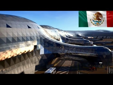 Modern Mega-structure: The New International Airport of Mexico City