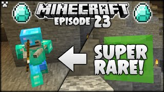 I FOUND ONE OF THE RAREST MINECRAFT MOBS! | Python Plays Minecraft Survival [Episode 23]