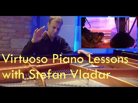Piano Pedal Master Techniques Part 2 of 2 with Stefan Vladar
