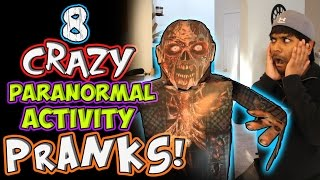 8 How to CRAZY Paranormal Activity Pranks!