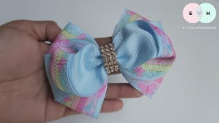 Laço De Fita 🎀 Ribbon Bow Tutorial #41 🎀 DIY by Elysia Handmade