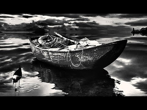 Photoshop dramatic black and white photo editing