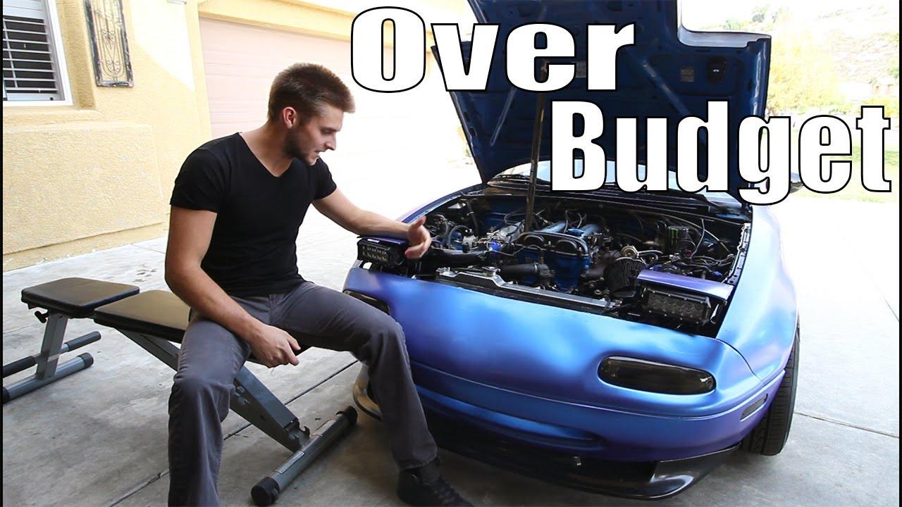 Engine Swap Cost >> Engine Swapped Miata Entire Swap Cost