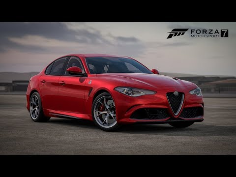 forza motorsport 7 samsung qled car pack trailer first. Black Bedroom Furniture Sets. Home Design Ideas