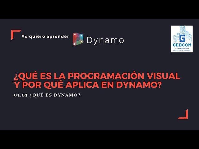 Introducción a Dynamo | 01-01-¿Qué es la programación visual y por que aplica en Dynamo ?