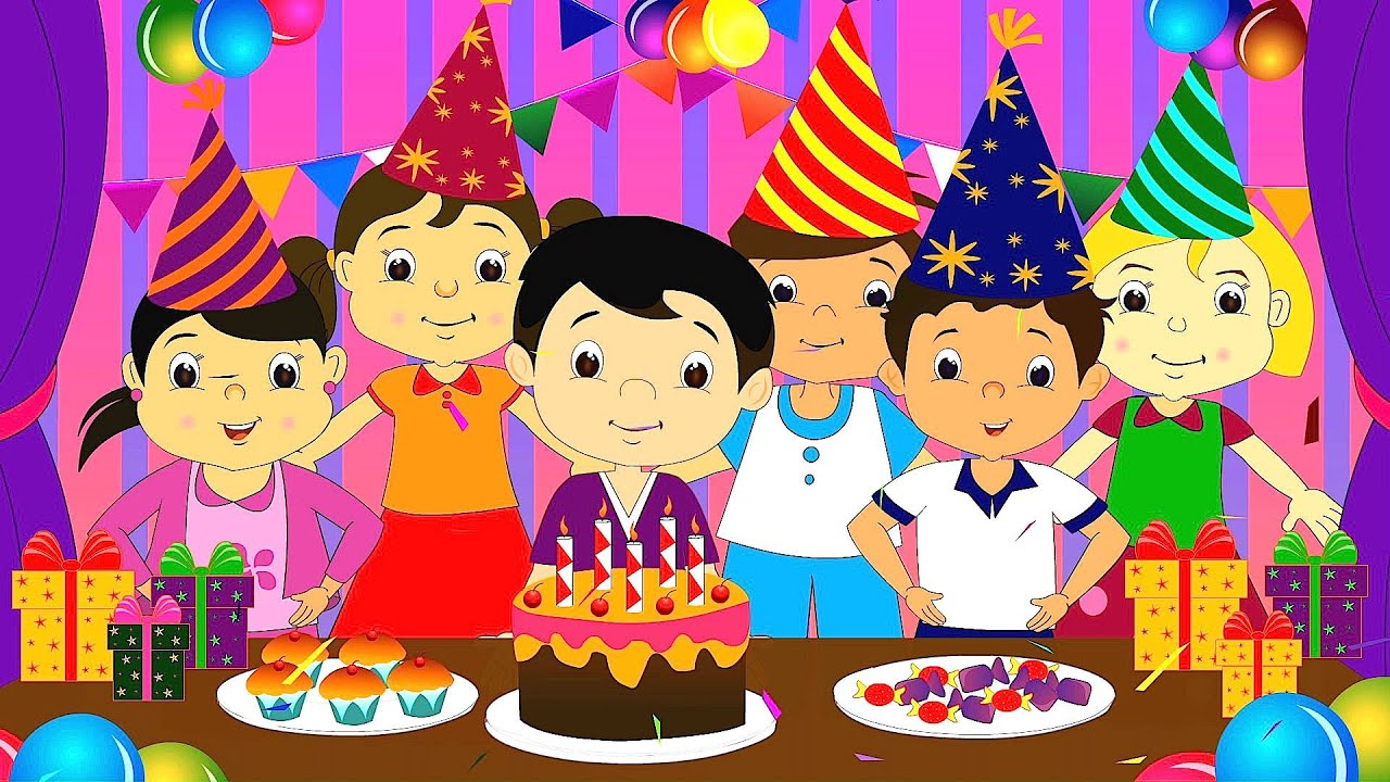 Happy Birthday Song Happy Birthday Song For Children