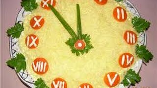 10 идей украсить салат Мимоза