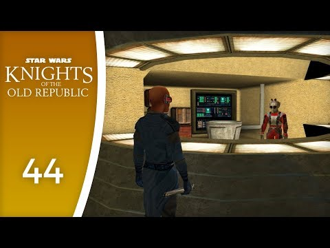 Czerka Corp has no time for you - Let's Play Star Wars: Knights of the Old Republic #44