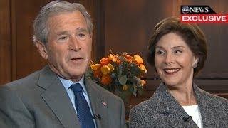 George W. Bush Interview 2013: President, Former First Lady Laura Bush Speak with Diane Sawyer thumbnail