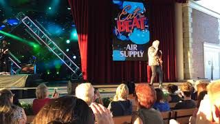 """Air Supply """"Sweet Dreams"""" Disney Epcot America Gardens Theatre Eat To The Beat! September 20, 2017"""