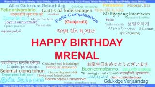 Mrenal   Languages Idiomas - Happy Birthday