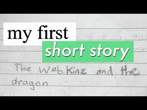 Reading the First Short Story I Ever Wrote!