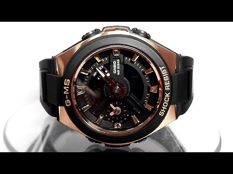 340cdd52dcd0 Casio G-MS MSG-400G-1A1 watch video 2018 - YouTube