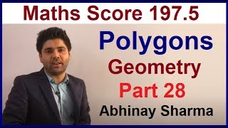 Geometry Part 28 - Polygons By Abhinay Sharma SSC CGL Mains 2017(Abhinay Maths)
