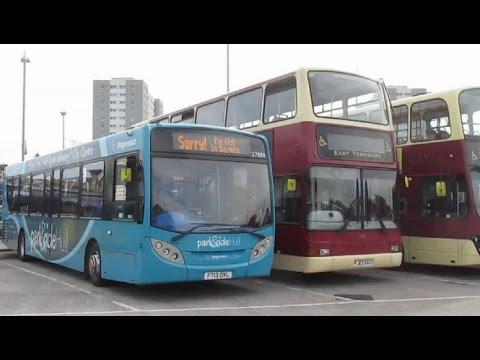 Buses & Trains at Hull - September 2016