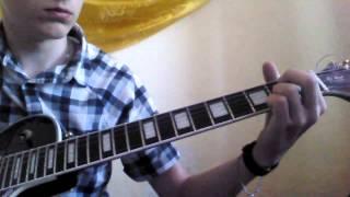 Урок на гітарі Скрябін Спи собі сама