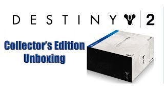 Destiny 2 Collectors Edition Unboxing SWEET LOOT x3 Giveaways