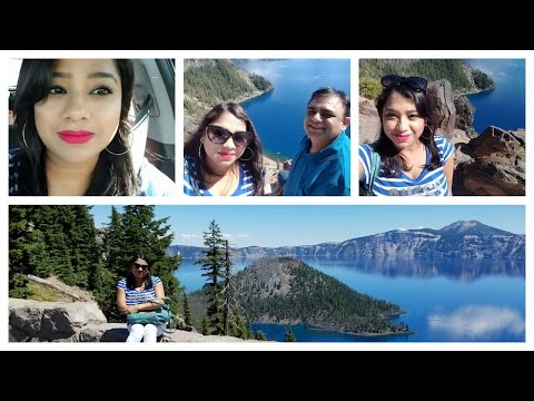 Crater Lake ,Oregon USA Vlog Part 1| Stuck In Traffic | My Love For Indian Food |