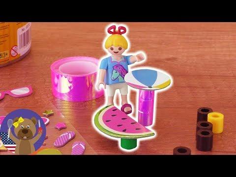 Diy Playmobil Garden Furniture For The Vogel Family