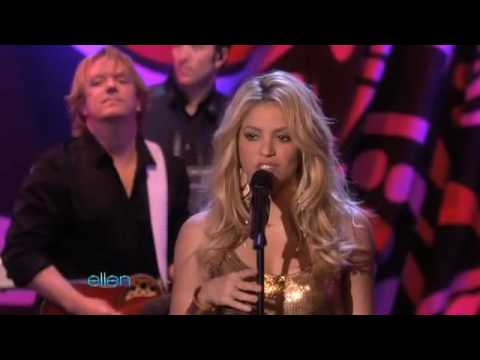 Shakira gypsy ellen degeneres show live watch it youtube - Ellen show live ...