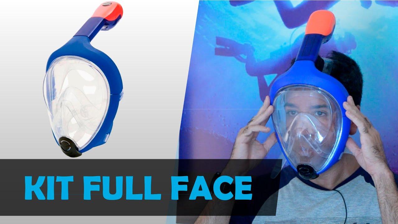 45c3fcff6 Apresentação do Kit de Mergulho Easybreath Full Face - YouTube