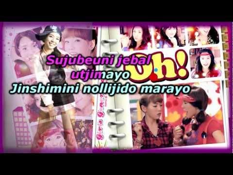 Oh!(korean Ver.)karaoke Instrumental - Girls Generation(SNSD).mp4