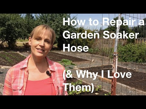 garden soaker hose. How To Repair A Garden Soaker Hose (\u0026 Why I Love Them) - AnOregonCottage.com YouTube