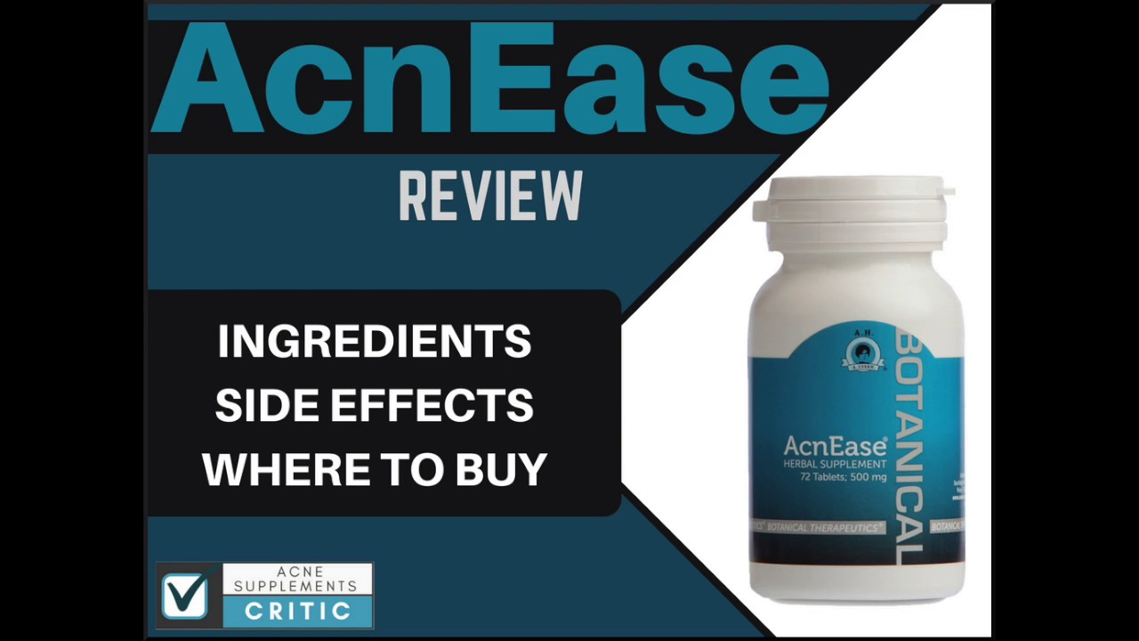 Acnease Review What Are The Ingredients And Side Effects