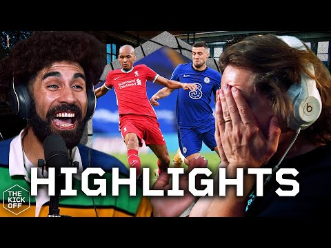 Chelsea 0-2 Liverpool - GOAL REACTIONS