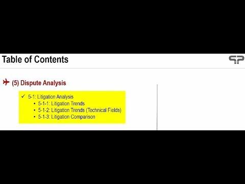 PatentPia Prometheus Guide 5-1 Litigation Analysis