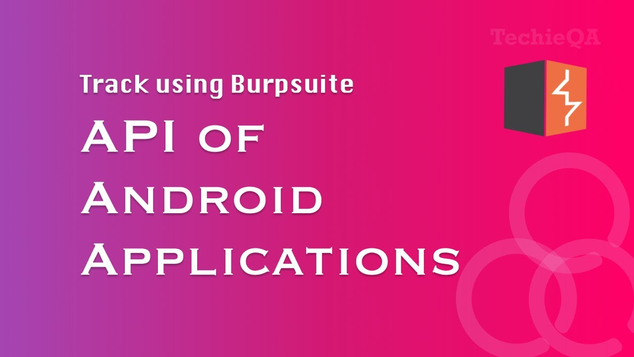 Burp Suite - Track API of any applications
