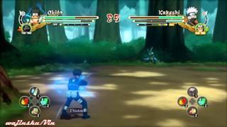 Naruto Ultimate Ninja Storm 3 Obito vs Kakashi Gameplay