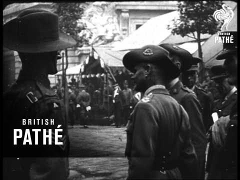 Opening Australia House - Part 1 (1918)