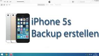 iPhone 5s Backup erstellen mit iTunes 12