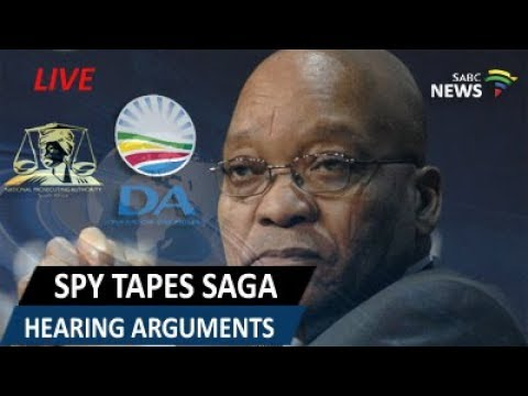 Spy Tape Saga Hearing at the Supreme Court of Appeal