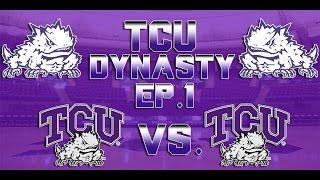 NCAA BASKETBALL 10 TCU Dynasty EP. 1   Pre-season