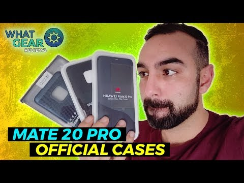Best Mate 20 Pro Cases | Official Huawei Smart Case